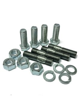 "Set studs & bolts (7/16"" UNF) for couplings type Bullflex 12 and 16"