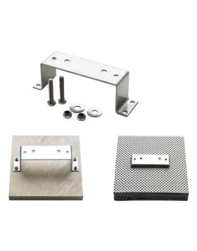 Mounting bracket set, M6 x 35, for fuel filters 330VTEB, 340VTEB, 350VTEB