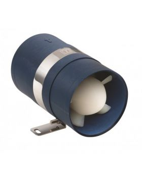 Inline Extraction ventilator 12V - hose I.D. Ø102 mm