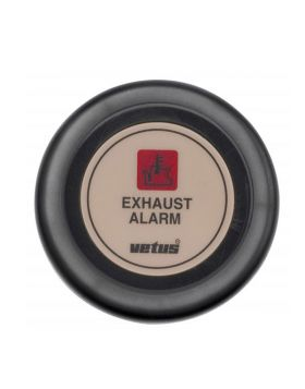 Dashboard instrument for exhaust temperature alarm 24 V, cream (excl. sensor)