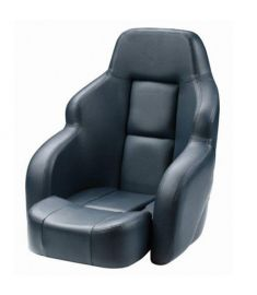 Commander seat dark blue, Flip- up