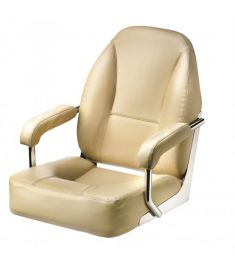 Master. High quality helm seat with armrests, cream