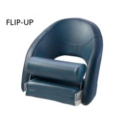 Lieutenant. Comfortable Flip-Up seat, dark blue