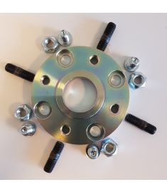 Adapter flange (1) for Yanmar KM2C; KM2P; KM3P, KM3A, Kanzaki KC30; KC45 and KC100