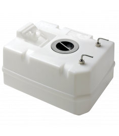 Plastic diesel fuel tank 40 l. including connections, for 10 mm fuel hose