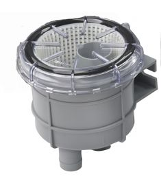"Strainer type 140, hose connections Ø 19 mm (¾"")"