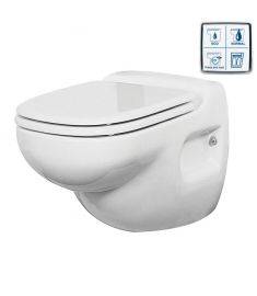 Toilet type HATO, 24 Volt, with electronic control panel
