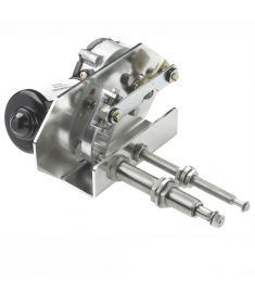 Heavy duty wiper motor 24V, 75W - long schaft