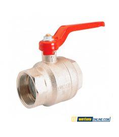 "Nickel plated brass - ball valve G½"""