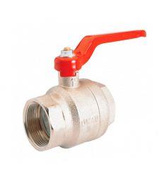 "Nickel plated brass - ball valve G2"""