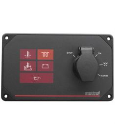 Engine instrument panel type MP10B12, 12 Volt