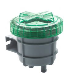 Small no-smell filter, suitable for Ø 16 mm vent hose only (107 x 111 x 111)