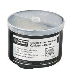 Spare filter for large no-smell filter - Filter dimension: diameter Ø 100 mm