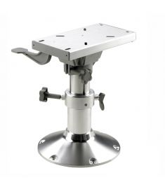 Manually adjustable seat pedestal with slide - height 30-40 cm