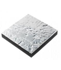 Sound insulation Prometech single, 12mm, aluminium face (600 x 1000 mm)