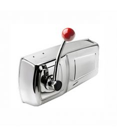 Single lever remote engine control - Side mounted - AISI316 stainless steel