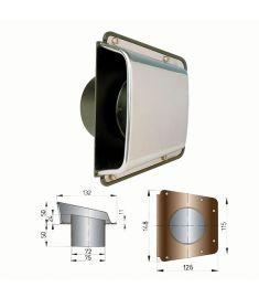 Shell ventilator type Scirocco  (incl.plastic baseplate)