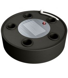 Ultrasonic level sensor 12/24V, for analogue indication of water, fuel and waste levels