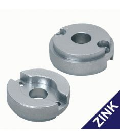 Replacement zinc anode for bow thruster 35 kgf, 45kgf, & 55 kgf