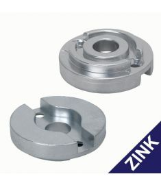Replacement zinc anode for bow thruster 60 kgf, 75 kgf, 80 kgf, 95 kgf