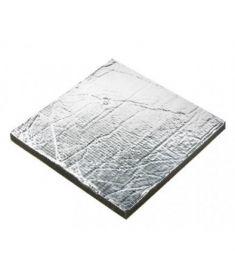 Sound insulation Sonitech light , 20mm, aluminium face (600 x 1000 mm)