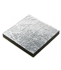 Sound insulation Sonitech single, 35mm, aluminium face (600 x 1000 mm)