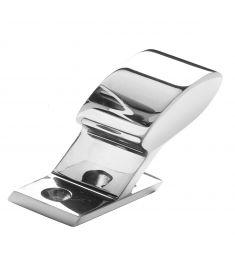Rail fittings end - stainless steel - tube Ø20 mm