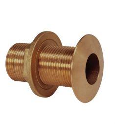 """Bronze through-hull fitting G1 1/2"""""""