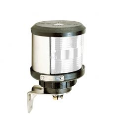 Top lantern (side mounting) - black (excl. bulb)