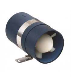 Inline Extraction ventilator 12V - hose I.D. Ø75 mm