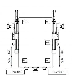 E-box 1 motor 12/24V mech motor+mech gear