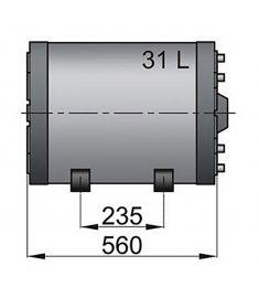 Double wall calorifiers type WHT 31 litre