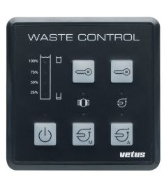 Waste water control panel type WWCP