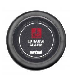 Dashboard instrument for exhaust temperature alarm 24 V, black (excl. sensor)