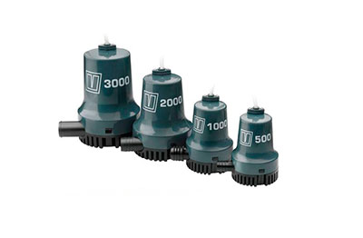 Vetus High quality submersible bilge pumps at low prices